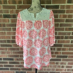 Calypso St. Barth for Target silk blouse